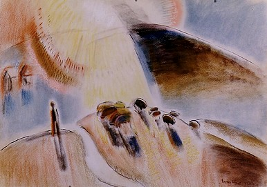 Egry József Kondás című képe