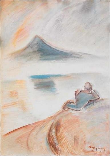 Egry József Merengő című festménye