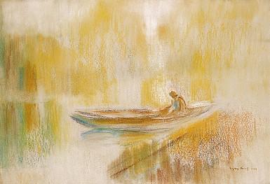 Egry József Napfényes Balaton című képe